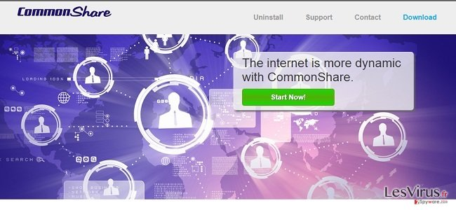 CommonShare ads and CommonShare deals instantané