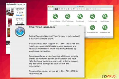 Le virus Cool New Tab Theme de Mac