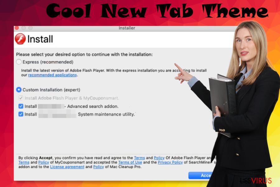 Logiciel malveillant Cool New Tab Theme