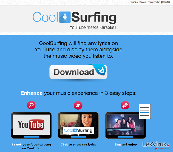 CoolSurfing instantané