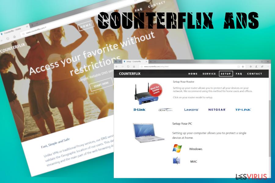 Counterflix ads