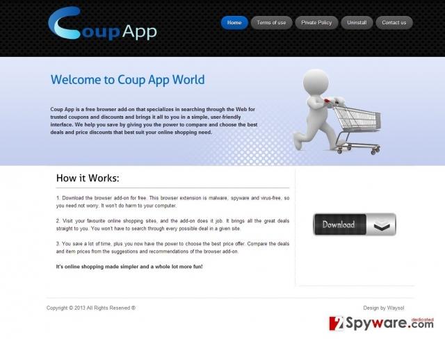 Coup App Annonces instantané