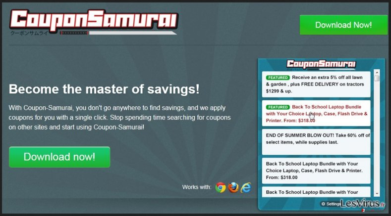 Coupon samurai