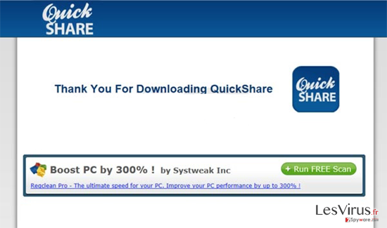 Coupons by QuickShare instantané