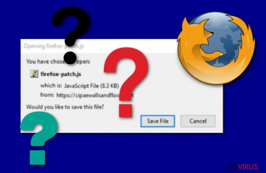 notification de Critical Firefox Update