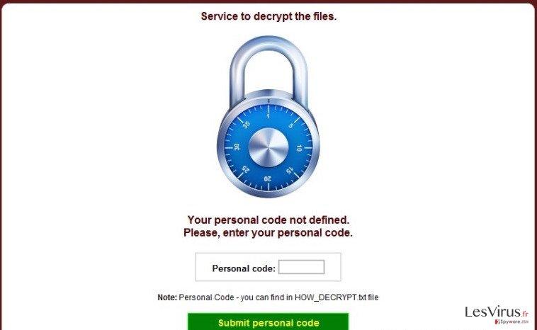 CryptoDefense instantané