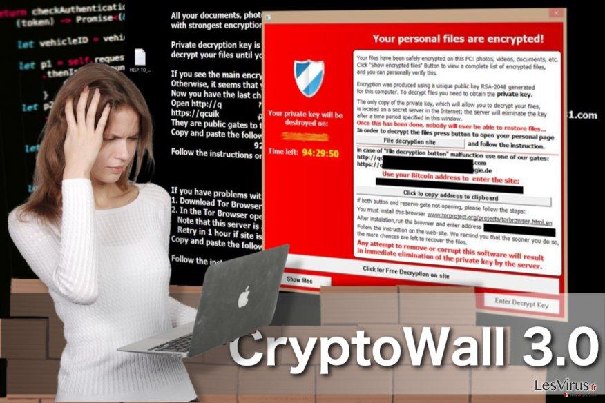 CryptoWall 3.0 virus instantané