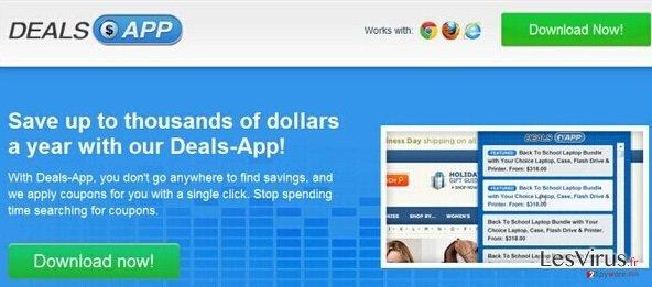 Annonces par Deals App instantané