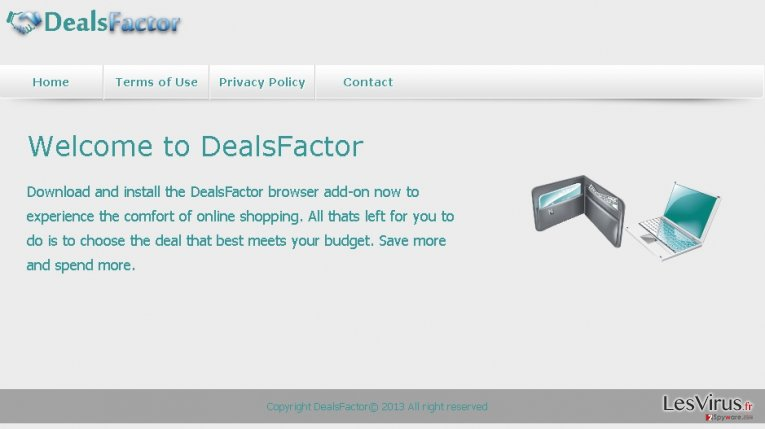 DealsFactor virus instantané