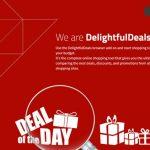 DelightfulDeals adware instantané