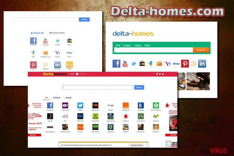 Delta-homes.com instantané