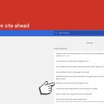 Deceptive site ahead instantané