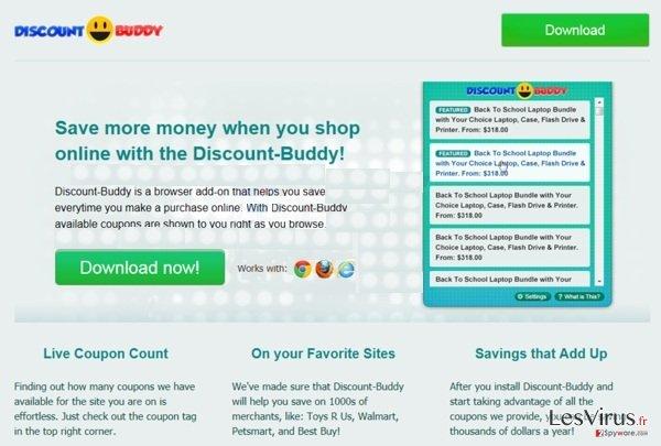 Discount Buddy instantané