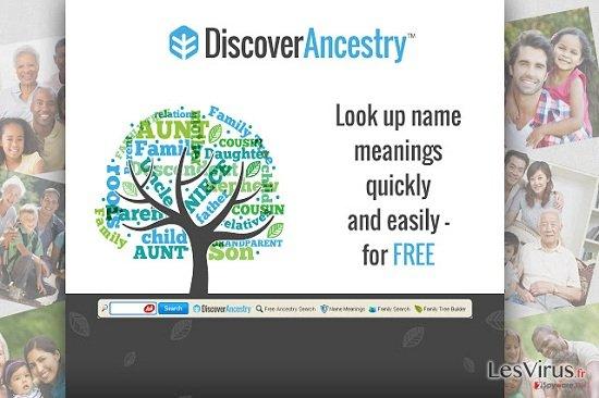 DiscoverAncestry Toolbar instantané