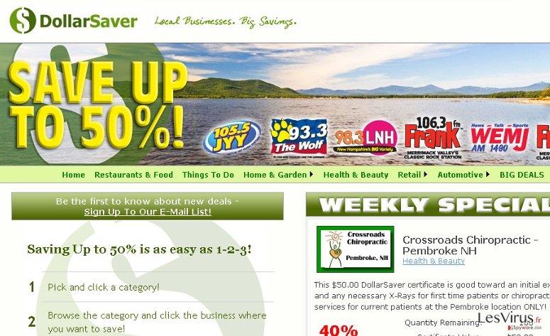 Dollar Saver annonces instantané