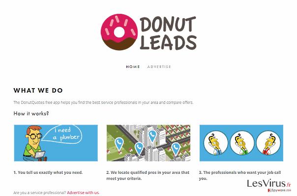 Annonces par DonutQuotes instantané