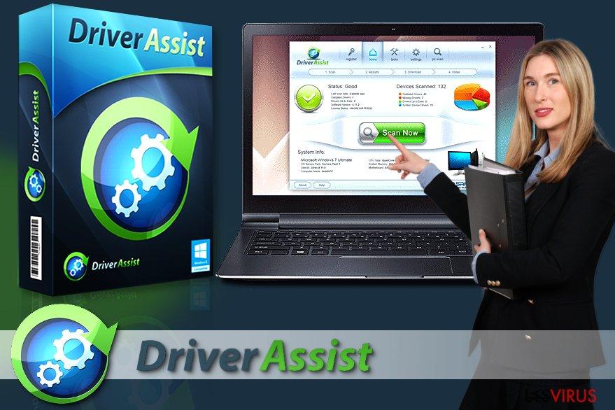 Le logiciel DriverAssist