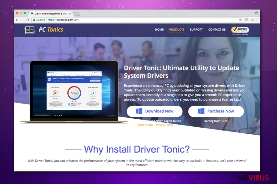 l'image de Driver Tonic