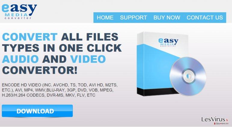 Easy Media Converter ads