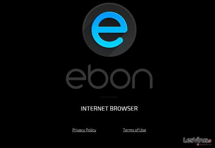 Virus le navigateur Ebon instantané