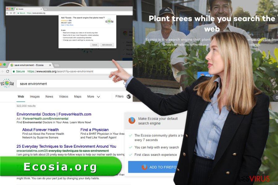 Image représentant le virus Ecosia.org