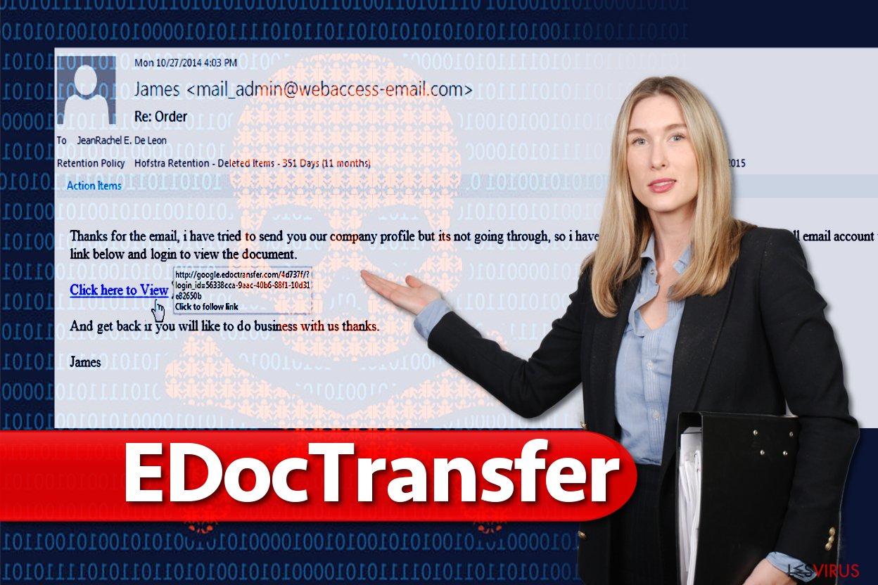 Virus EdocTransfer