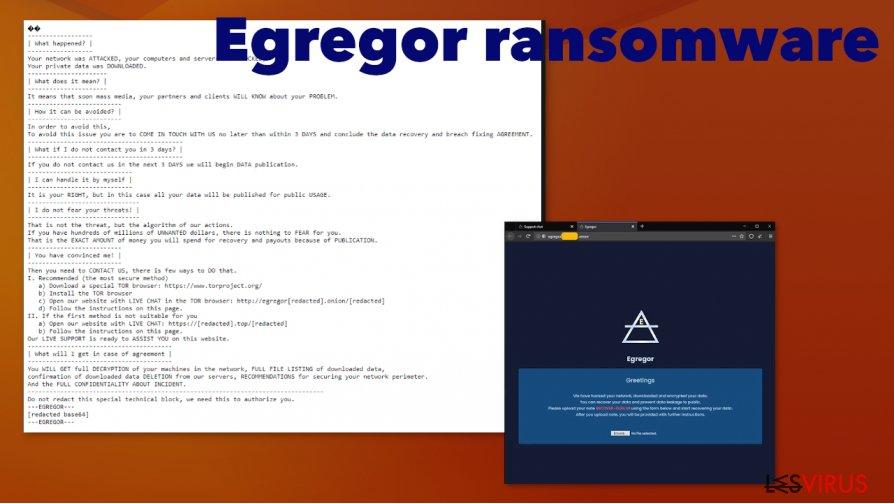 Le rançongiciel Egregor
