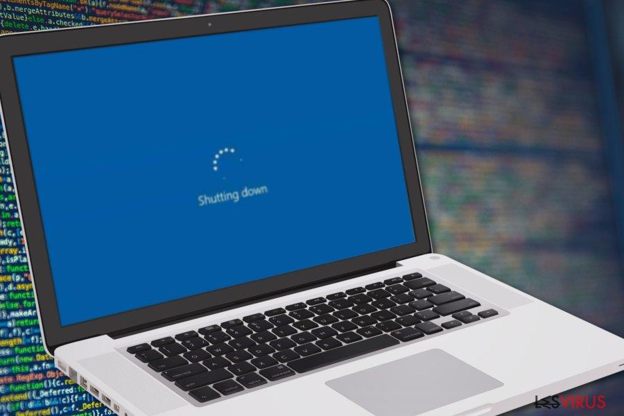L'application Elara empêche l'ordinateur de s'éteindre