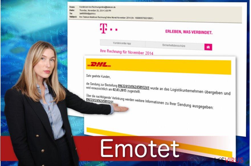 Le cheval de Troie bancaire Emotet se propage par le biais de fausses factures