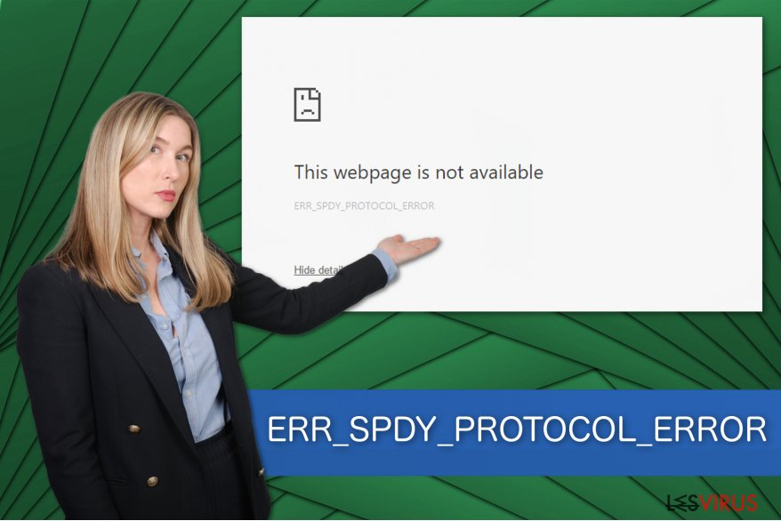 Illustration de ERR_SPDY_PROTOCOL_ERROR