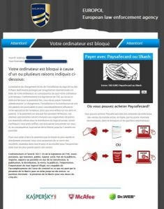 European Law Enforcement agency virus