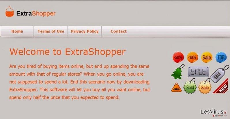 ExtraShopper ads instantané