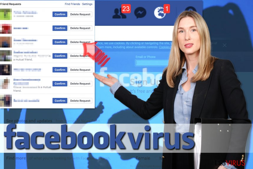 Le virus Facebook Friend Request instantané