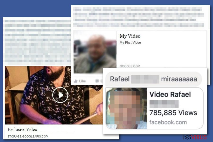 Le virus Facebook video instantané