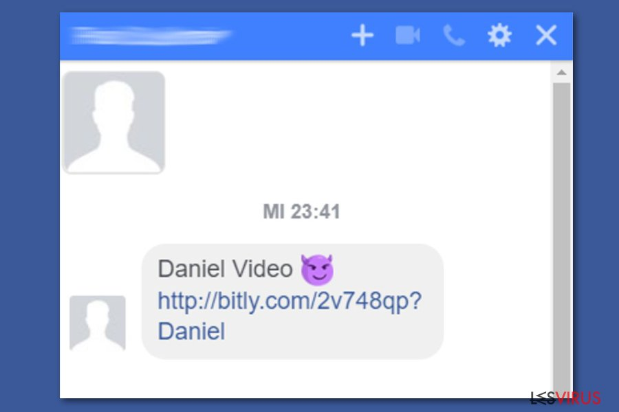 Facebook video virus spreads