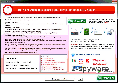 FBI Online Agent instantané
