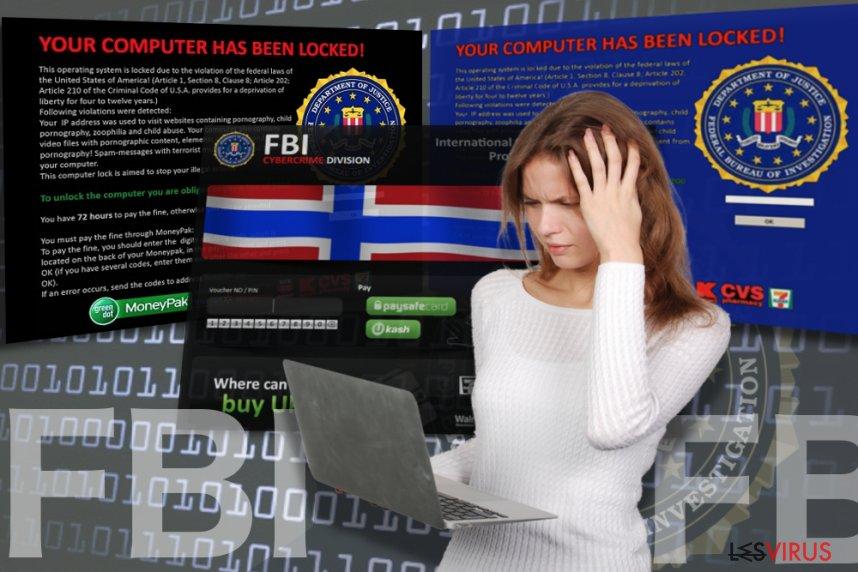 FBI virus instantané