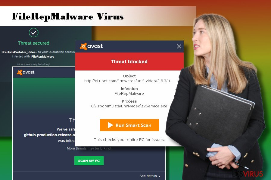 le virus FileRepMalware