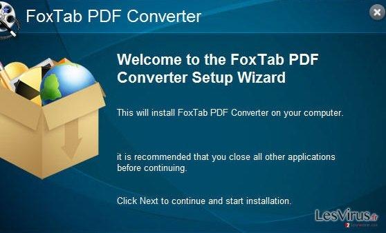 FoxTab Pdf Converter instantané