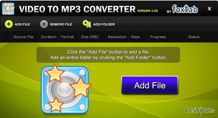 FoxTab Video Converter instantané