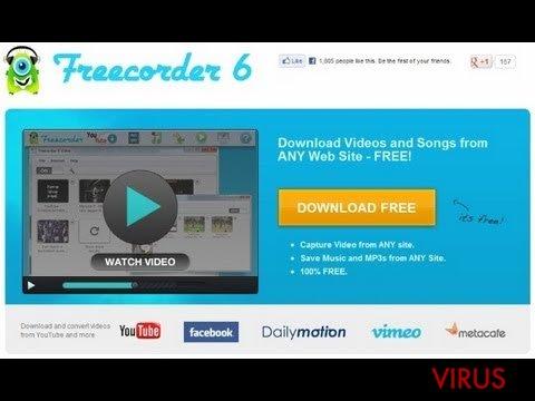 Freecorder instantané