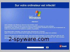 French Ukash virus