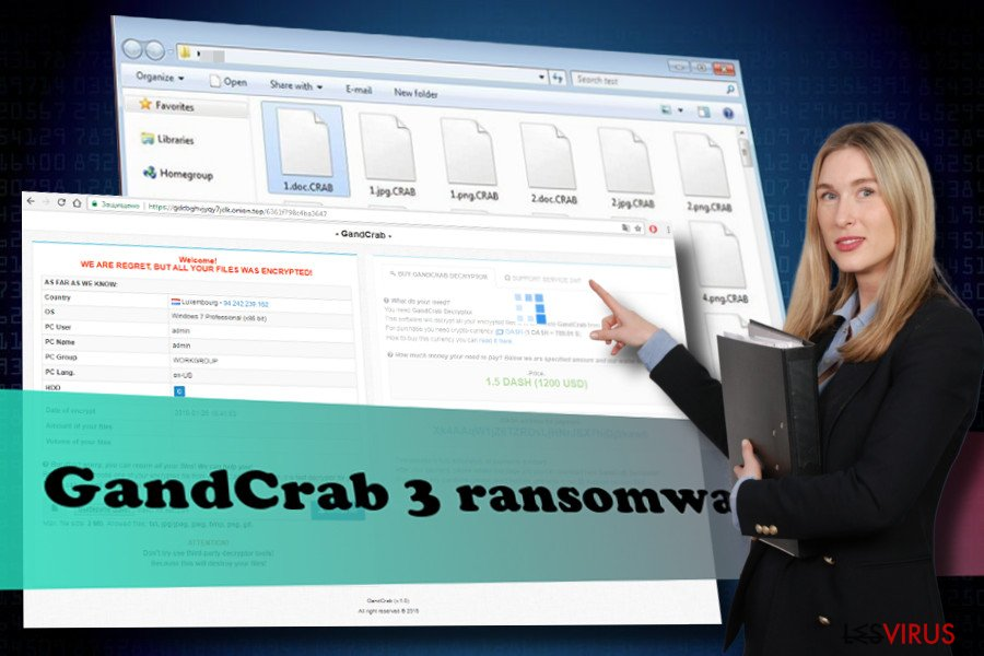 Suppression du rançon-logiciel GandCrab 3