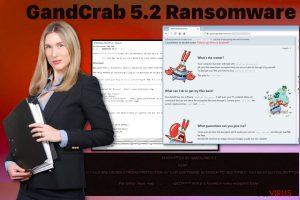 Le ransomware GandCrab 5.2