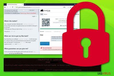 le ransomware Gandcrab 5.1