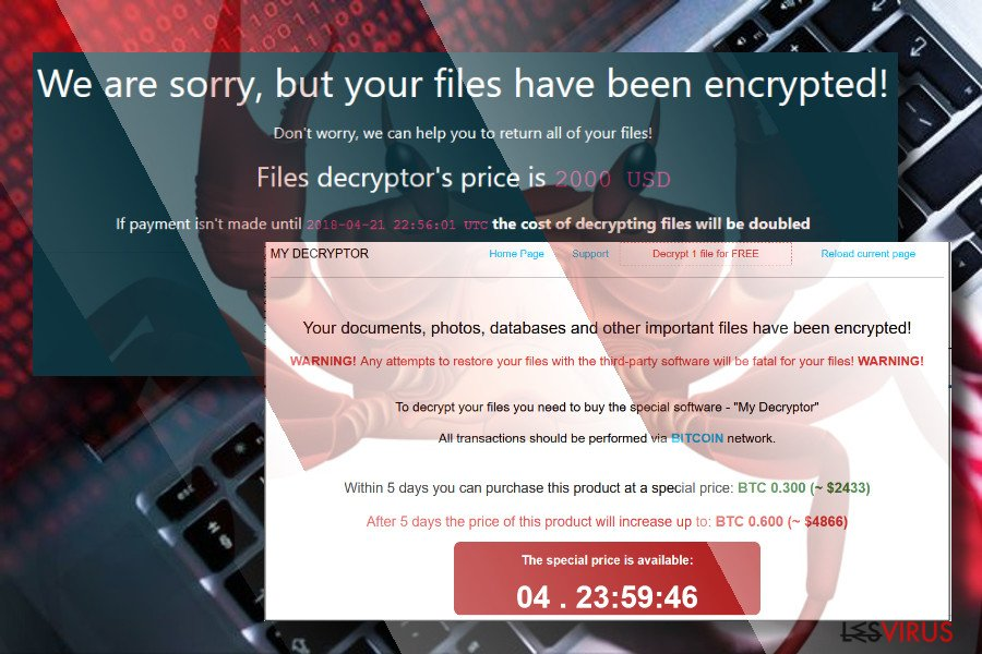 Le rançon-logiciel GandCrab instantané