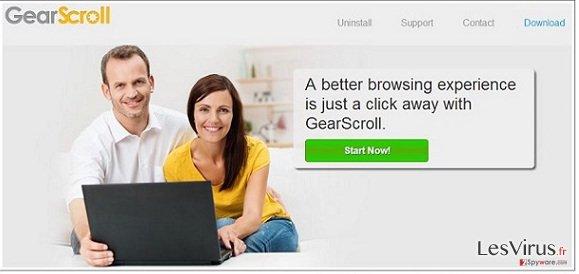 GearScroll virus instantané