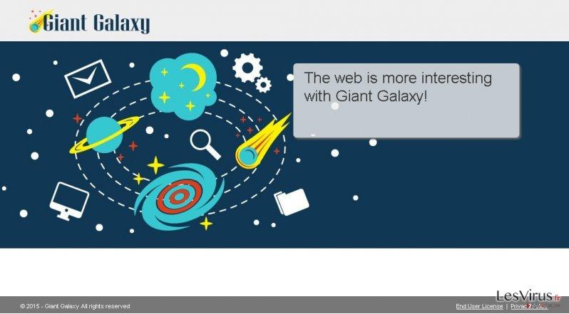 Giant Galaxy annonces instantané