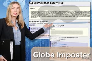 Le virus rançongiciel Globe Imposter