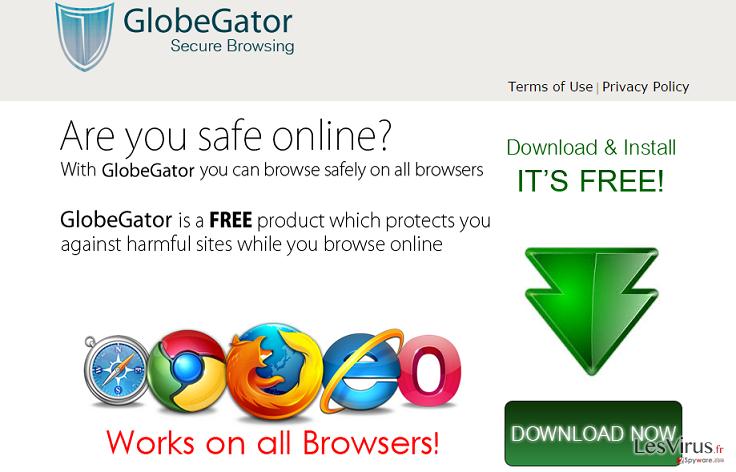 GlobeGator annonces instantané